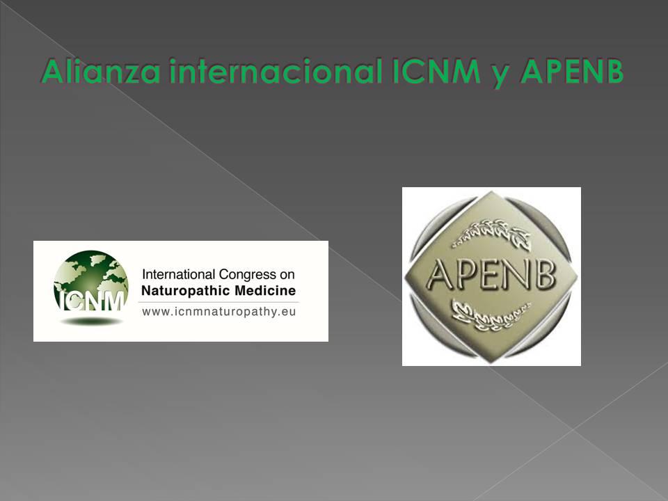 Alianza Internacional entre APENB y ICNM