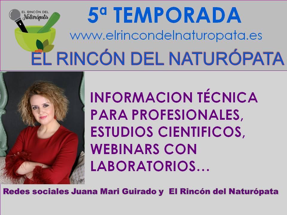 Pregunta para profesionales naturópatas, terapeutas, médicos