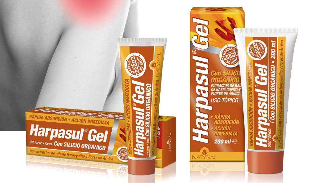 Cuida tus músculos y ligamentos con Harpasul Gel